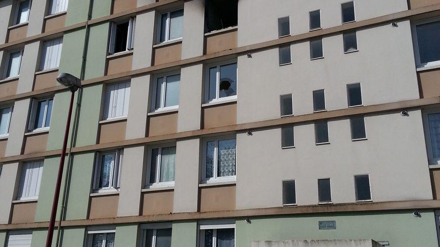 L'incendie s'est déclaré au 3ème étage d'un immeuble  à Flers