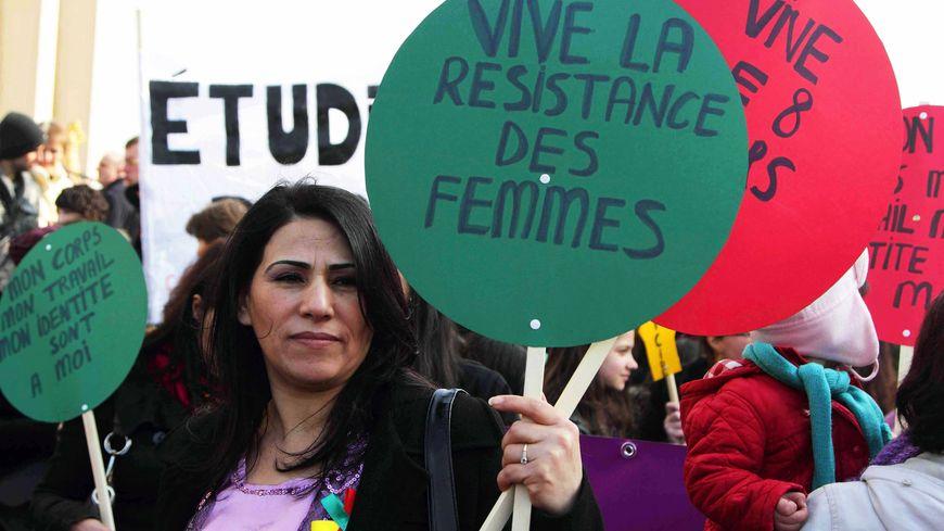 Manifestation pour les droits des femmes 2011