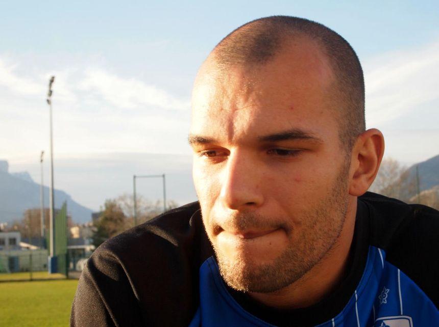 Paul Cattier, gardien de but du G38. - Antoine Beneytou