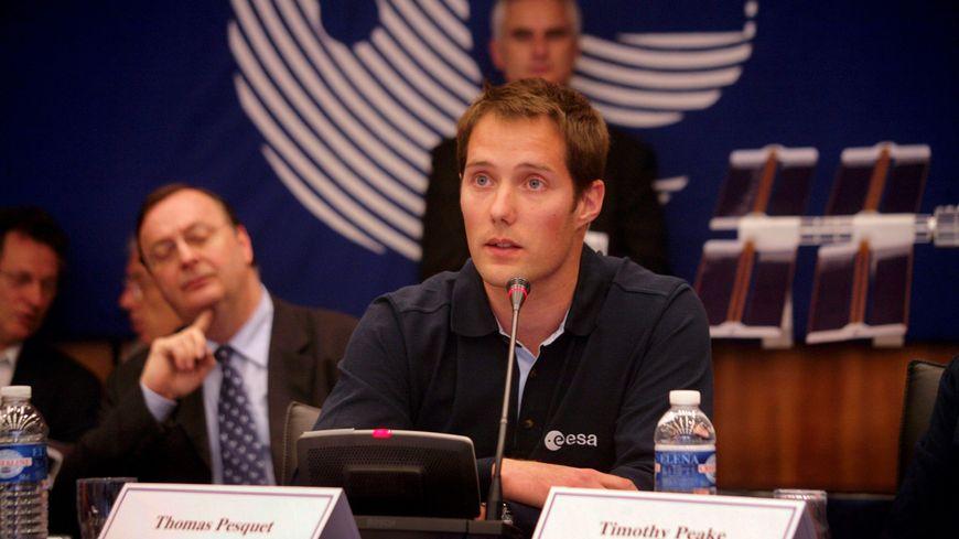 Thomas Pesquet en 2009