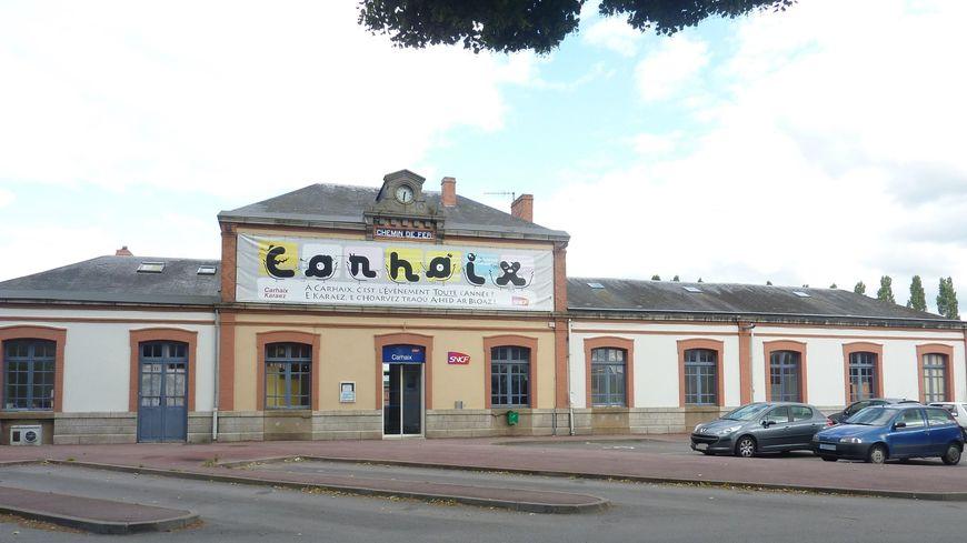 La gare de Carhaix