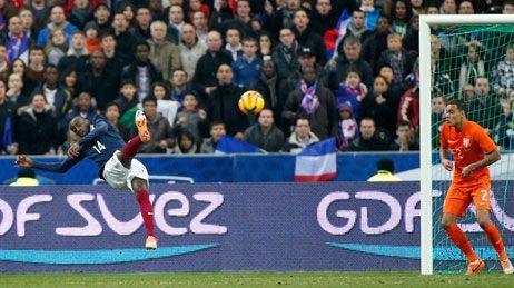Blaise Matuidi a permis aux Bleus de faire le break grâce à une reprise acrobatique