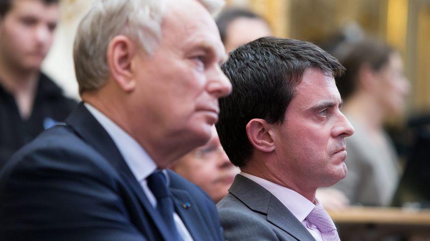 Manuel Valls et Jean-Marc Ayrault