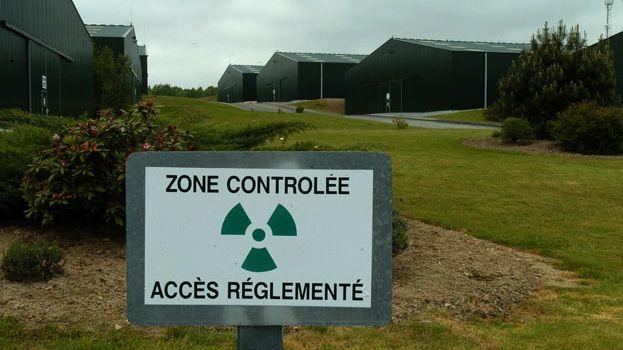 Site de stockage d'uranium appauvri d'Areva à Bessines-sur-Gartempe.