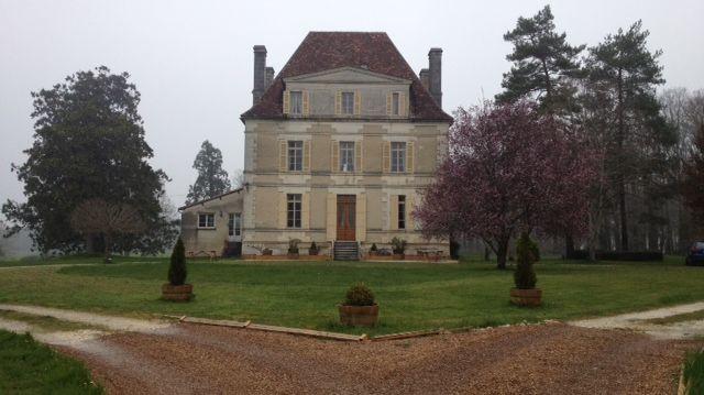 Le château Le Pauly à Chassaignes