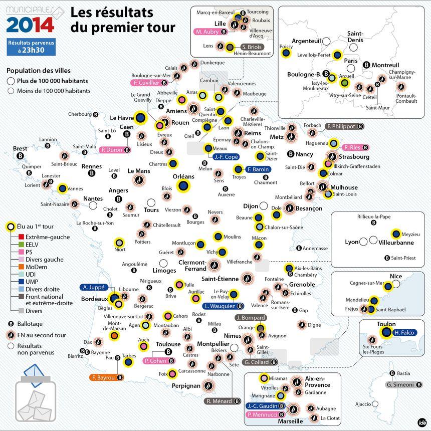 Municipales 2014 : le rapport de forces - IDÉ
