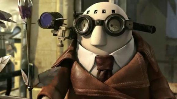 Mr. Hublot, personnage du court-métrage d'animation qui porte son nom, primé aux Oscars