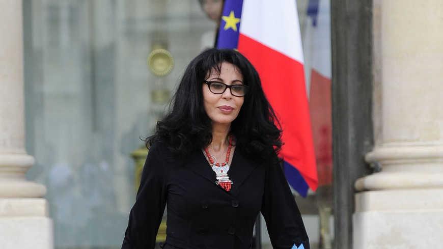 Yamina Benguigui, ministre sortante déléguée à la Francophonie (Paris )