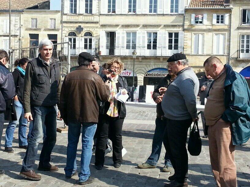 """Fin de la manifestation des vignerons : """"Nous irons à Bordeaux si rien ne bouge"""" - Radio France"""