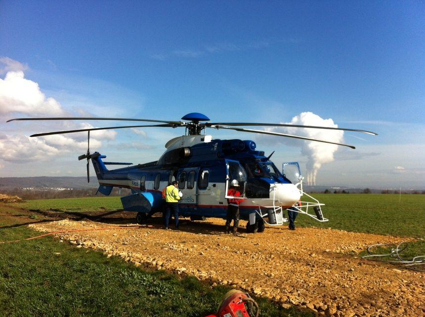RTE Hélicoptère - Radio France