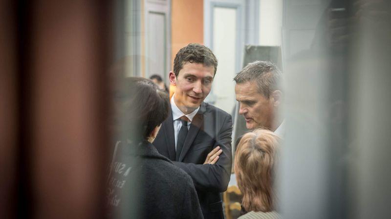 Le nouveau maire Front national de Beaucaire, Julien Sanchez