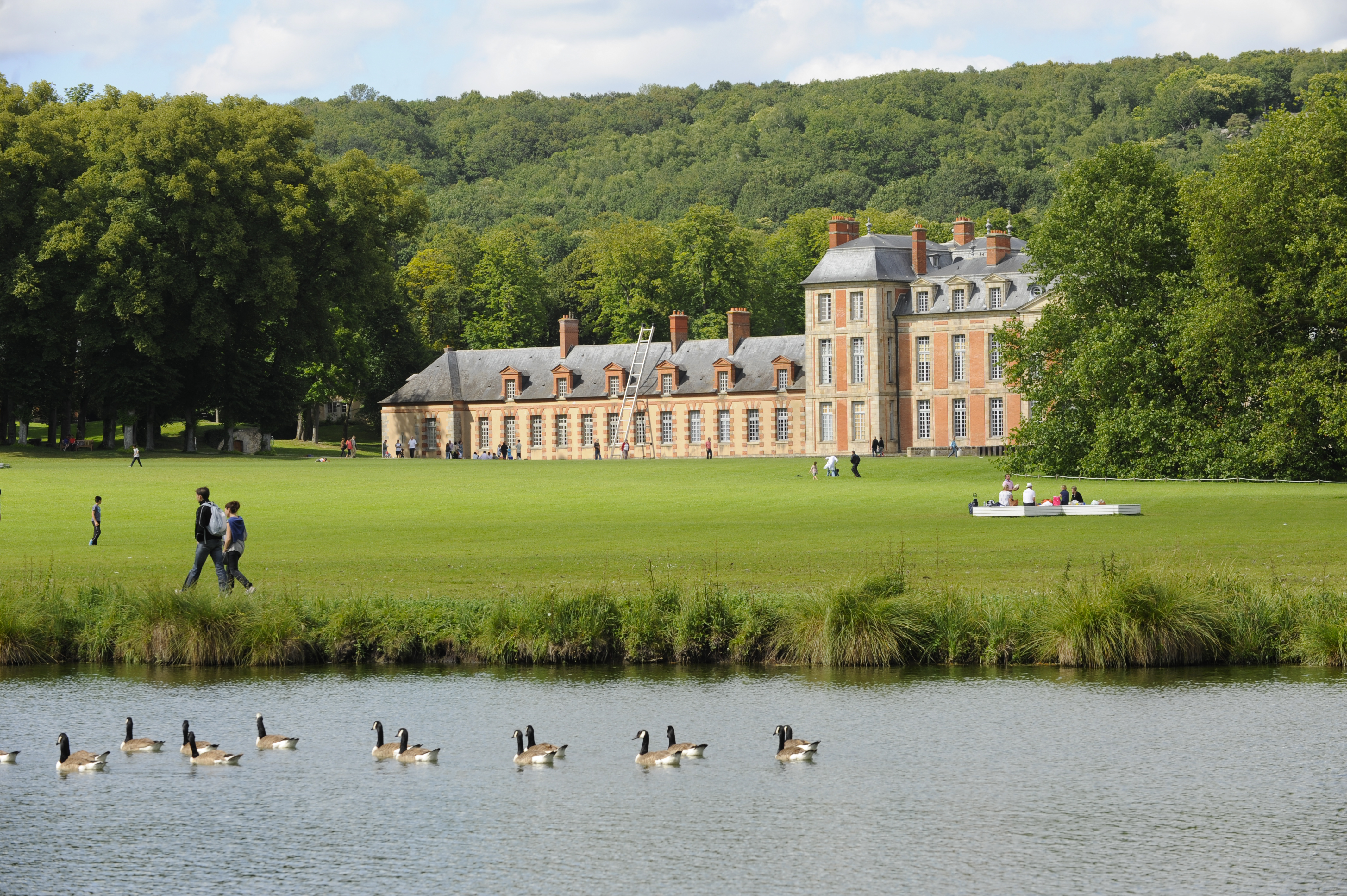 Le château et le parc