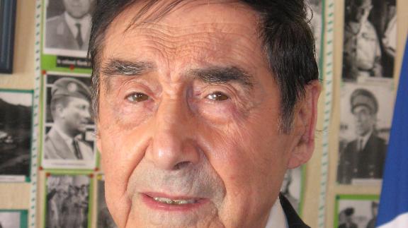Marcel Berthomé, candidat à  92 ans à sa succession à Saint-Seurin sur l'Isle