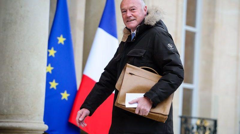 Alain Rousset sur le perron de l'Elysée en février dernier