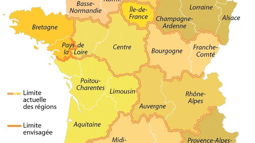 Manuel Valls souhaiterait réduire de moitié le nombre de régions.