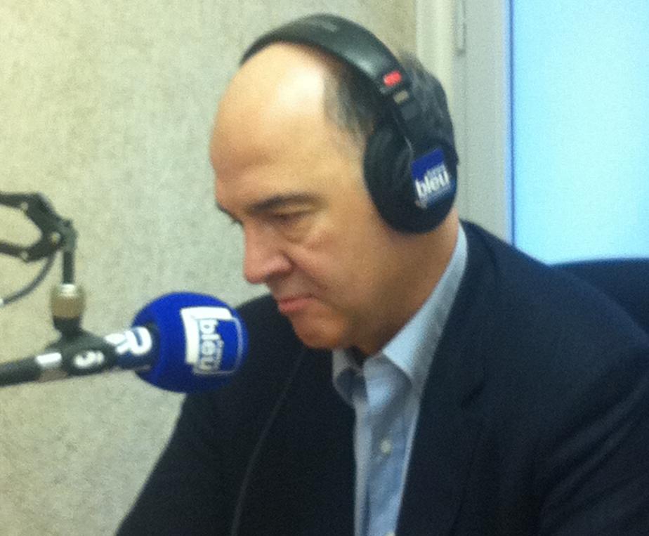 Pierre Moscovici fait les frais du remaniement, le 2 avril 2014.