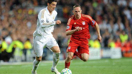 Cristiano Ronalo et Franck Ribéry vont se retrouver comme lors de la demi-finale en 2012