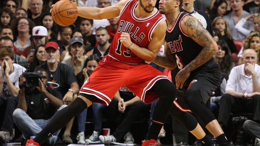 Joakim Noah, joueur des Chicago Bulls