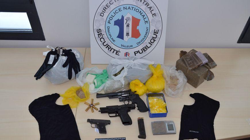 Saisie de drogue et d'armes à Avignon