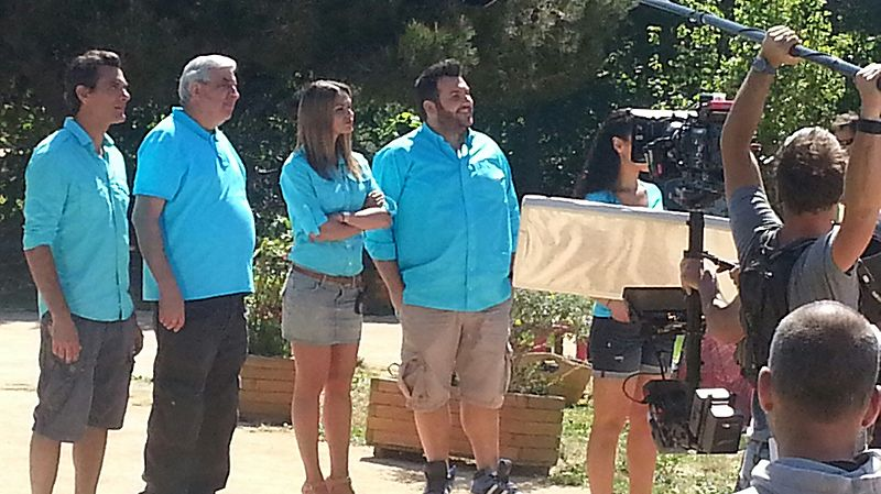 Tournage de la série Camping Paradis à Martigues