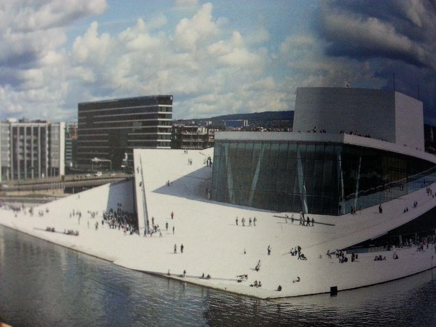 L'opéra d'Oslo construit par le cabinet Snohetta
