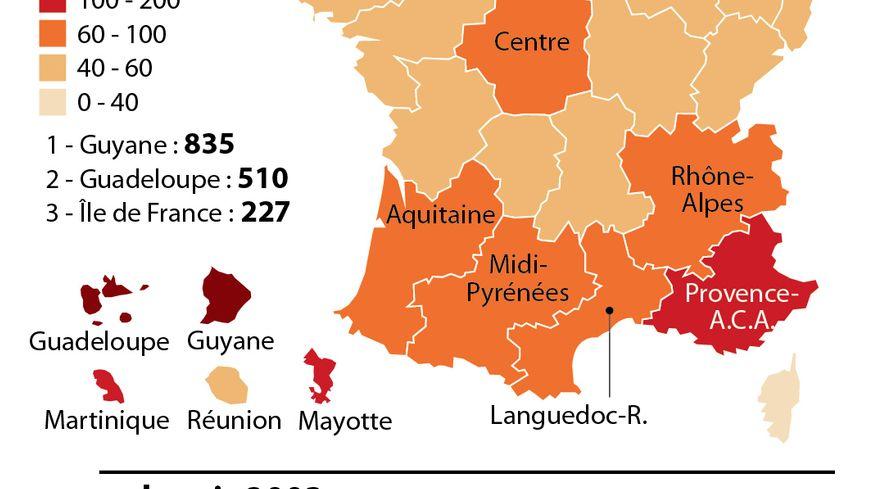 Le Sida en France.
