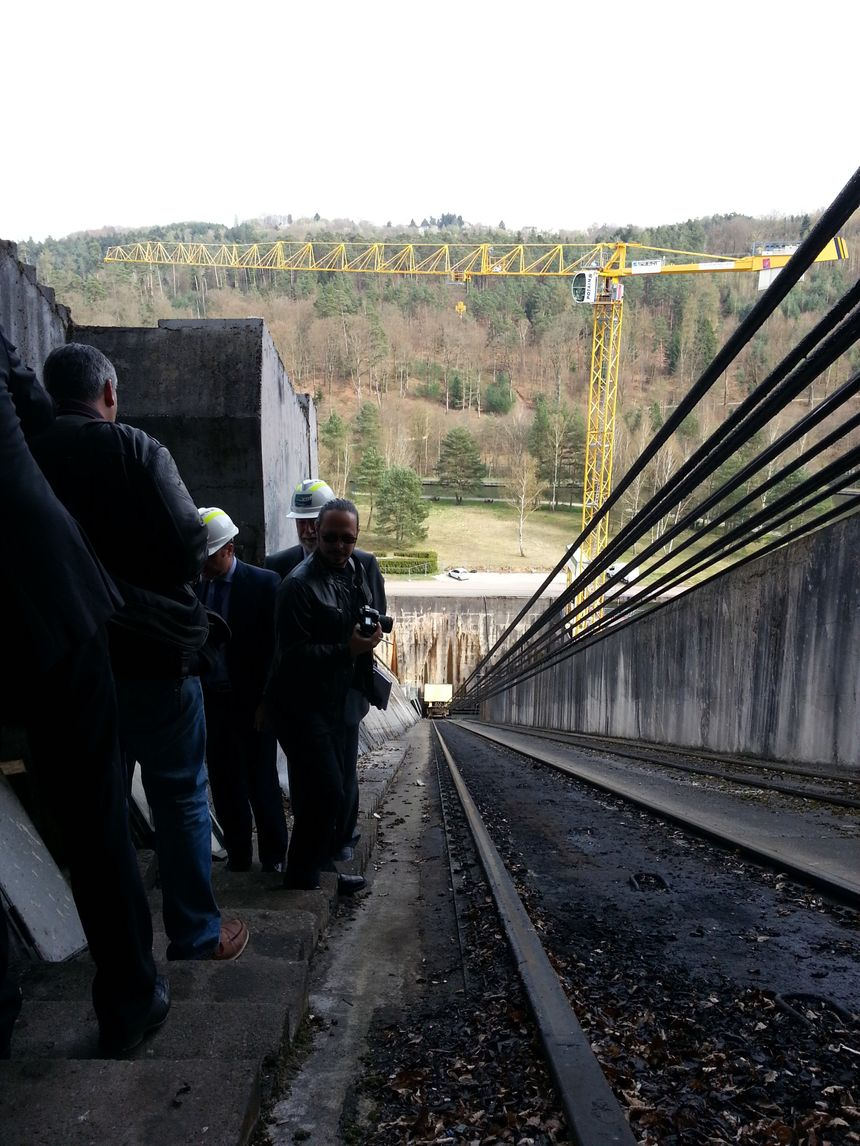 Le plan incliné d'Arzwiller en Moselle est en chantier jusqu'au 2 mai 2014 - Radio France