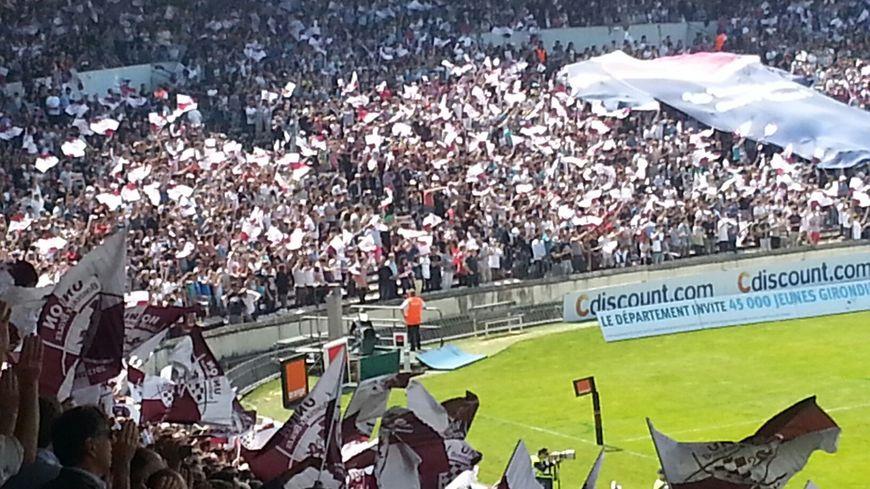 Le stade Chaban-Delmas a fait le plein pour UBB/Toulon