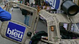 La Pipozetta de France Bleu Toulouse défile au Carnaval