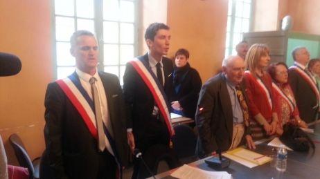 Julien Sanchez, nouveau maire de Beaucaire (Gard)