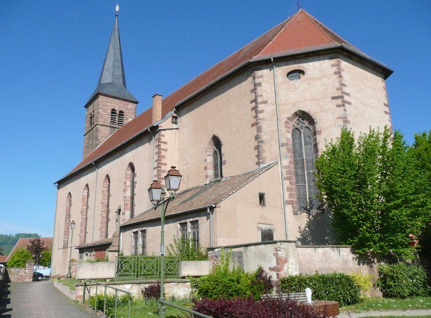 Monswiller, Eglise Notre-Dame-de-l'Assomption - Radio France