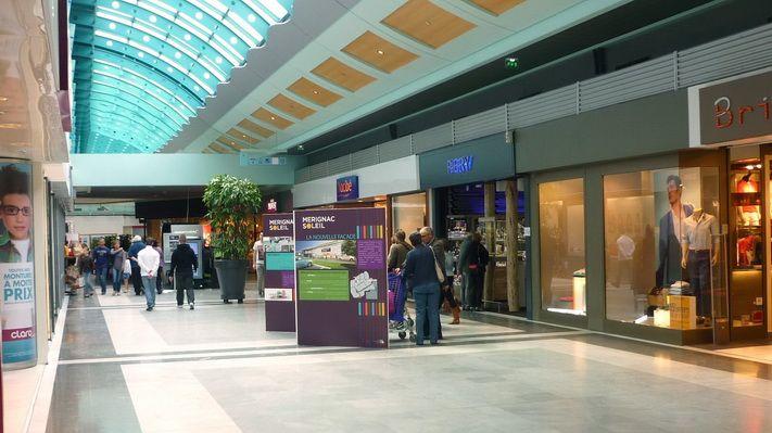 Le centre commercial Mérignac Soleil