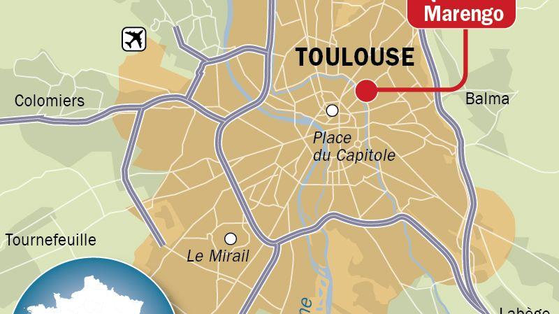 FBToulouse  18h 08/04 homme griévement blessé à Toulouse