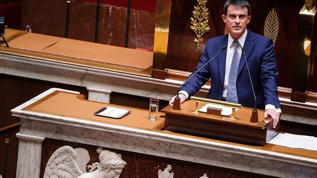 Manuel Valls à l'Assemblée nationale le 8 avril 2014
