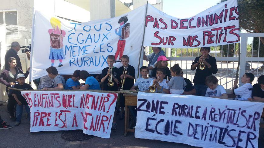 Mobilisation pour sauver une classe à Prats-de-Mollo