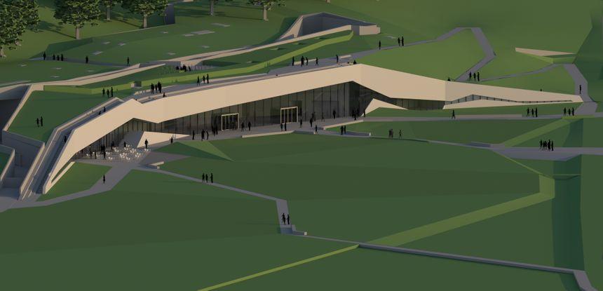 Le futur centre international d'art pariétal Lascaux 4 - Snohetta