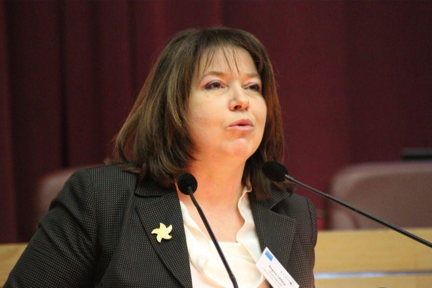 Régine Lange, présidente d'ATMO.