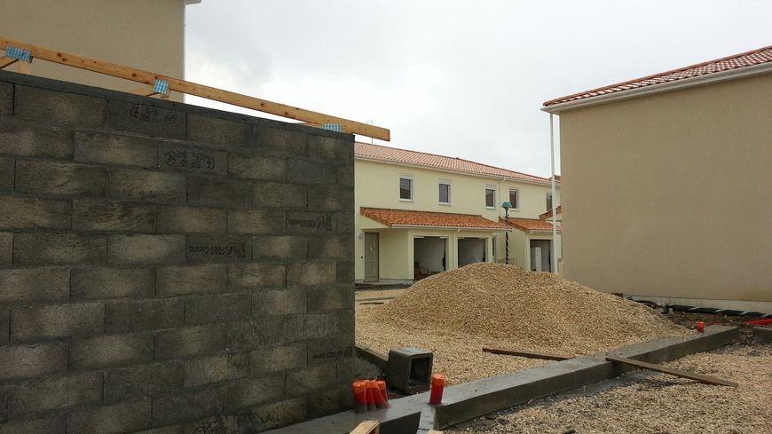 Le chantier de 38 logements où l'opération de police s'est déroulée jeudi dernier