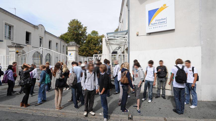 Le lycée d'enseignement catholique Fénelon-Notre-Dame de La Rochelle