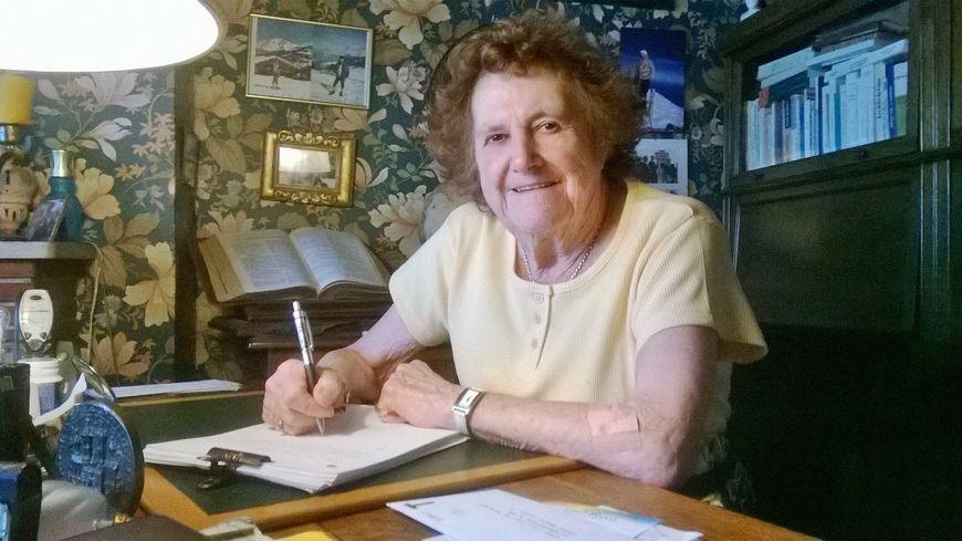Anne-Marie Denizot, fondatrice de l'association caennaise pour la connaissance de l'Allemagne