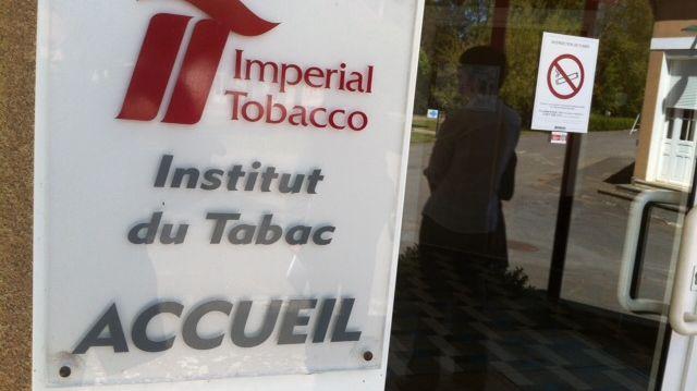 L'Institut du Tabac à Bergerac.