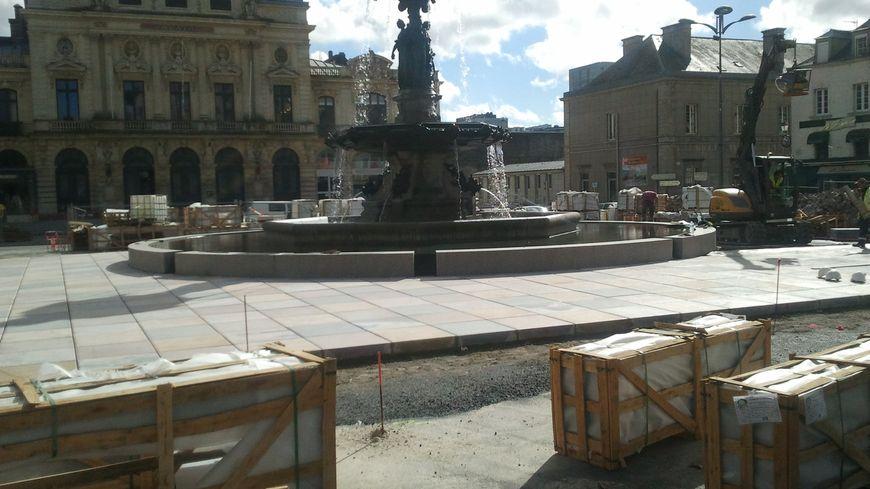 Place de Gaulle à Cherbourg