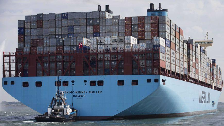 Les Mærsk sont une série de porte-containeurs géants.