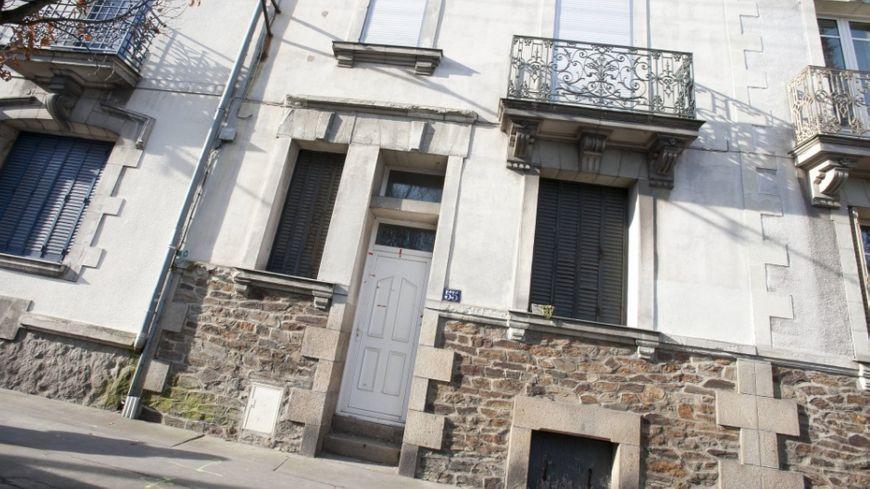 La maison de Xavier Dupont de Ligonnès à Nantes