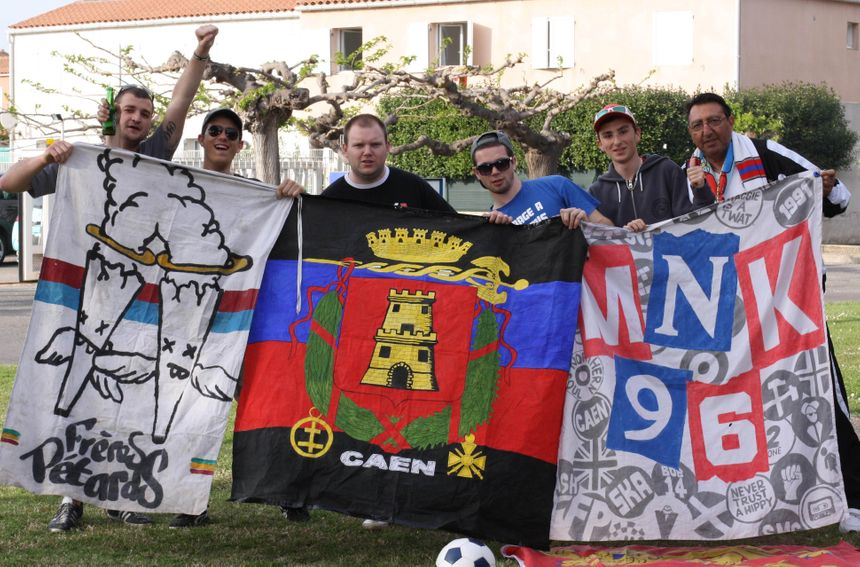 foot caen supporters à Istres - Radio France