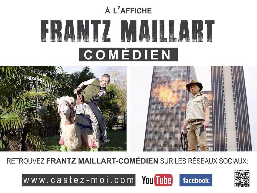 Frantz Maillart s'affiche à Paris et Bordeaux - DR