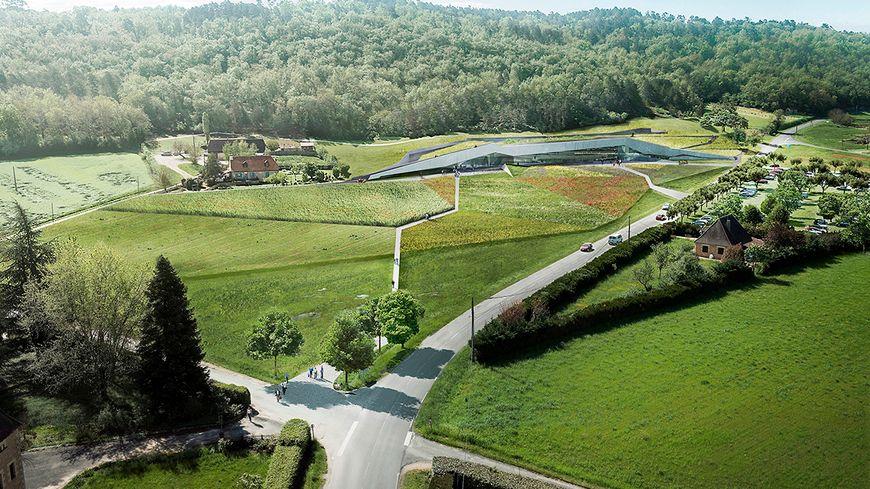 Le futur centre international d'art pariétal Lascaux 4