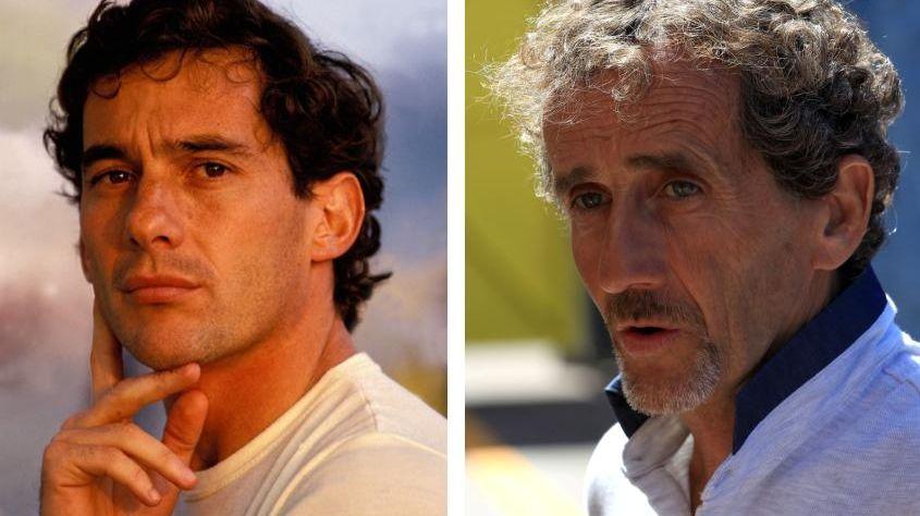 Prost Senna