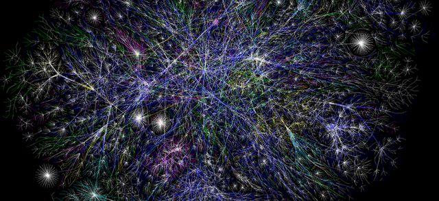 Carte partielle d'Internet (2005)