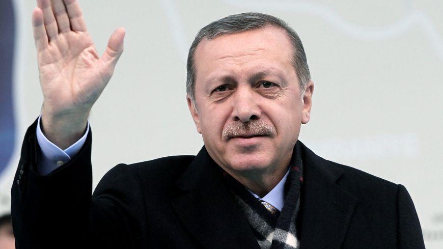 Le Premier ministre turc Recep Tayyip Erdogan